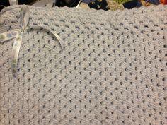 It's a boy baby blanket for my baby nephew Johnton Jr.