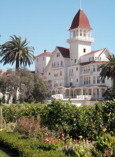 the Grand Hotel del Coronado