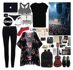 """twenty one pilots"" by goddamncheesecake ❤ liked on Polyvore featuring beauty, Isabel Marant, River Island, Victoria's Secret, Vans, NARS Cosmetics, Ray-Ban, FOSSIL, Fuji and Louis Vuitton"