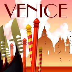 The city of Venice, which seems to float on water, canals, gondola . Floating In Water, Most Visited, Venice, Art Deco, Tours, Holiday City, World, Travel City, Places