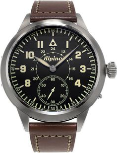 Alpina Watch Startimer Heritage Pilot MKII Limited Edition #bezel-fixed #bracelet-strap-leather #brand-alpina #case-material-steel #case-width-50mm #delivery-timescale-call-us #dial-colour-black #gender-mens #limited-edition-yes #luxury #movement-manual #official-stockist-for-alpina-watches #packaging-alpina-watch-packaging #style-dress #subcat-startimer #supplier-model-no-al-435lb4sh6 #top-twelve-pilot #warranty-alpina-official-2-year-guarantee #water-resistant-50m