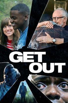 Get Out - When Chris, a young African-American man, visits his white girlfriend's family estate, he becomes ensnared in the.. #growingupblack #movieposters