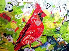 All Things Paper: Mixed Media Collages - Baye Hunter