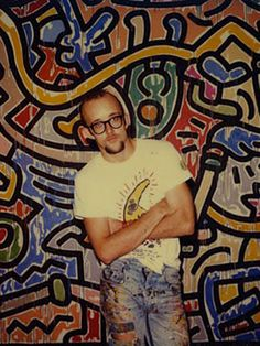 Keith Haring, I see your True Colors shining through.......