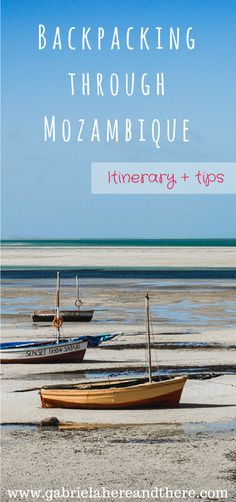 Backpacking Through Mozambique: itinerary and travel tips. Travel Goals, Travel Advice, Travel Guides, Travel Tips, Travel Plan, Travel Stuff, Maputo, African Holidays, Safari