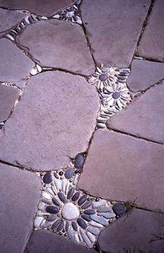 креативного использования камней в ланшафтном дизайне.
