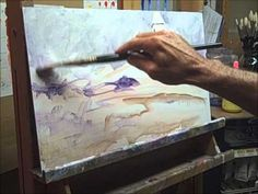 """Oil Painting. PART 2 of 3 Recreating """"Atlantic Sentinel"""" by Richard Schmid"""