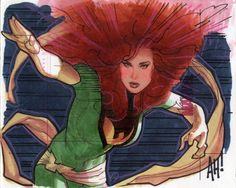 Just Say AH! :: Paintings, Drawings and Sketches :: Phoenix sketch card