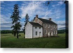 Valley Forge Pa Canvas Prints - An Old House Canvas Print by Photos By Jeff