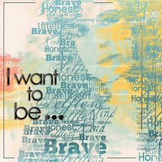 I Want to Be . . . - My Scrapbook Art Gallery