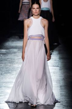 Prabal Gurung Spring 2015. BAZAAR is rounding up the best runway looks from #NYFW, see our favorites here.
