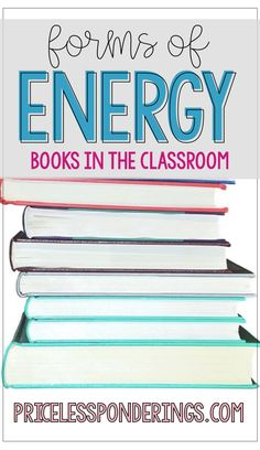 Teaching students about different forms of energy can be a blast with a great list of resources. This post includes fun books to use to help you teach your students about forms of energy! List Of Resources, Science Resources, Teaching Resources, Student Teaching, Teaching Science, Science Experiments, Fourth Grade Science, Elementary Science, What Is Energy