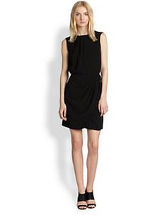Sleeveless Draped Dress($79.00) 80% Off #dressess
