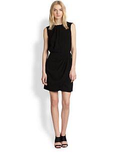 Sleeveless Draped Dress($79.00) 80% Off #dressess