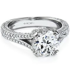 Stunning #engagement rings with classic elegance! To see more: http://www.modwedding.com/2013/10/01/engagement-rings #wedding