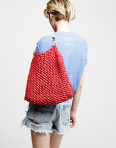 DIY bag ... & a destroyed short