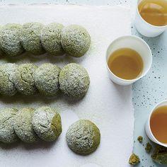 Matcha Tea Cake Cookies