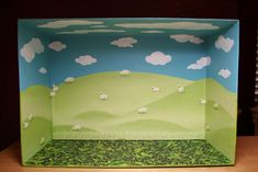 shoebox diorama - Google Search