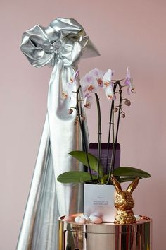 Glorious Easter Orchids & Eggs