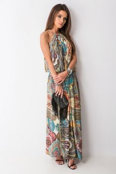 156ed258e5 Oryginalna sukienka Isabel w stylu boho to idealna propozycja na sezon  wiosna lato! Wykonana z bardzo wysokiej jakości