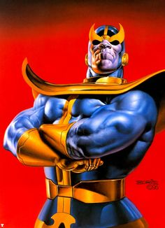 Thanos by Boris Vallejo