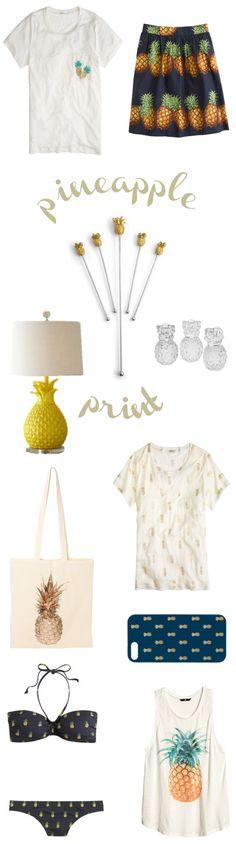 Pineapple Print #pineappleprint