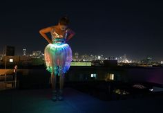 """A """"wow"""" piece for summer festivals like Burning Man."""