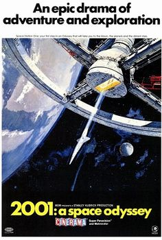 2001: A Space Odyssey (1968). I don't think this has much impact on anyone born after say 1975 or so. And there are moments that drag. But still, an amazing film.