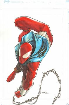 Scarlett Spider-Man by Humberto Ramos *