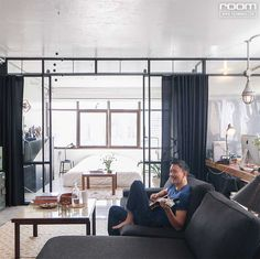 You drag the casual manner in the living room.  That can be connected to the bedroom.  Laminate is a good spot to watch the sunset.