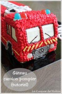 tutoriel-camion-pompier-gâteau