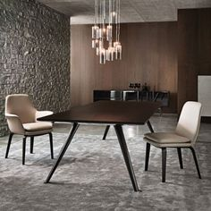 Minotti York arm chair (Our Dining Room Chairs- with arms)