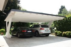 Find out all of the information about the Proverbio Outdoor Design product: wooden carport ARCO. Building A Carport, Carport Plans, Carport Garage, Pergola Carport, Deck With Pergola, Patio Roof, Pergola Patio, Pergola Plans, Pergola Ideas