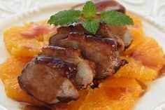 Duck Breasts In Orange Sauce by neongeisha on DeviantArt Duck Breast Orange Recipe, Chicken Games, Duck Recipes, My Cookbook, Different Recipes, Food Porn, Dinner Recipes, Good Food, Food And Drink
