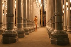 Model at the Urban Lights LACMA #LACMA #losangeles #cityofangels #model #fashion #style #popular #amazing #innerlight #art #street #lights #urban #onthestreet #streetart by deanprestonphoto