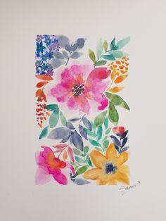 Beautiful floral watercolor!