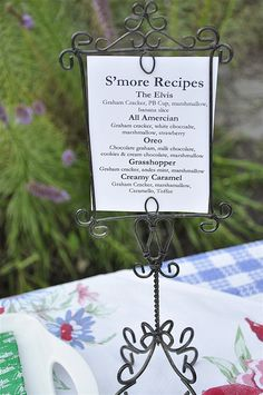 Smores Bar!  Can't wait to try it this summer.  Other neighbors have the pools, we have the campout and Smores Bar!