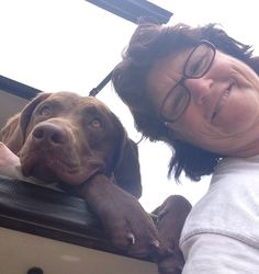 "Missy & I with a ""selfie"" attempt!"