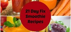 How to Make Smoothies for the 21 Day Fix