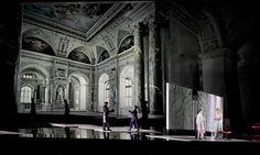 Der Rosenkavalier from  the Salzburger Festspiele 2014. Production by Harry Kupfer. Sets by Hans Schavernoch.