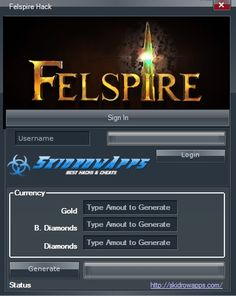 felspire hack cheats tool