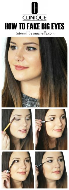 4 Easy Steps to Making Your Eyes Appear LARGER! #TheWink @Clinique