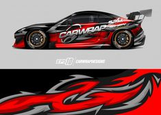 Discover thousands of Premium vectors available in AI and EPS formats Car Stickers, Car Decals, Racing Car Design, Drift Trike, Drifting Cars, Racing Stripes, Bike Art, Car Painting, Rally Car