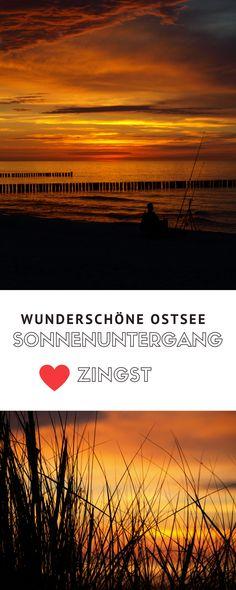 Ostsee Tipps: Wir zeigen euch die besten Stellen für wunderschöne Sonnenuntergänge am Strand von Zingst
