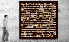 Exposición virtural / Título: The Family I (serie Analogical) / Medida original: 400 x 400 cm / Resolución: 120 p.p. / Formato de imagen: JPEG / Color estándar: CMYK / Peso digital: 410 Mb