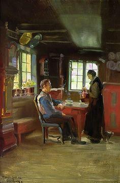 Christian Skredsvig  (1854-1924):