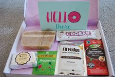 Sazra - The Handmade Treat Company review & discount code. Gluten free.