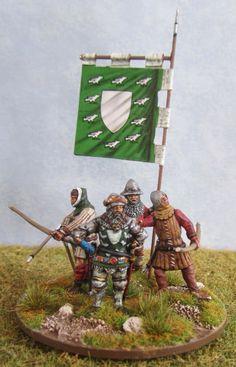 English Command Group (Sir Thomas Erpingham) - Harness & Array