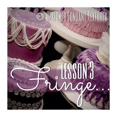 Lesson 3: Fringe http://www.craftsy.com/fashiontextures25