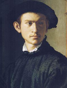 Portrait by Bronzino (Agnolo di Cosimo) | Flickr by petrus.agricola